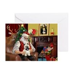 XmasSunrise/3 Cairns Greeting Cards (Pk of 20)