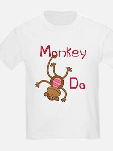 Monkey Do pink T-Shirt