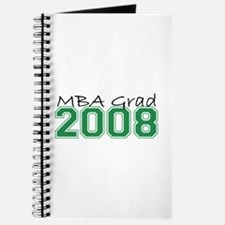 MBA Grad 2008 (Green) Journal