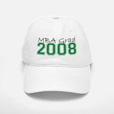 MBA Grad 2008 (Green) Baseball Baseball Cap