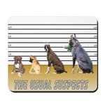 Usual Suspects Mousepad