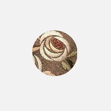 Glasgow Rose II Mini Button