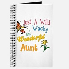 wonderful aunt Journal