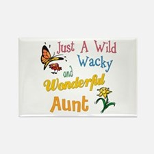 wonderful aunt Rectangle Magnet