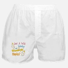 Wild Wacky Stepdad Boxer Shorts