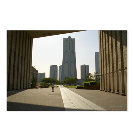Yokohama Landmark Tower Postcards (Package of 8)