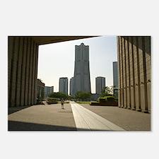 Yokohama Landmark Tower Postcards (Package of 8)