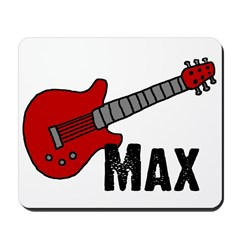 Guitar - Max Mousepad