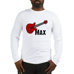 Guitar - Max Long Sleeve T-Shirt