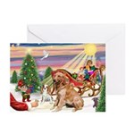 The Treat/Golden (#1) Greeting Cards (Pk of 10)