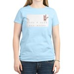 Love a Deaf Dog Today! Women's Light T-Shirt