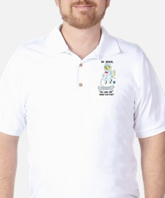 Farting In Space Golf Shirt