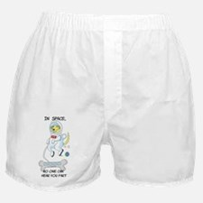 Farting In Space Boxer Shorts