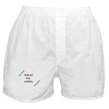 Funny Night shift Boxer Shorts