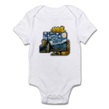 Van Gogh Starry Night Infant Bodysuit