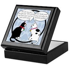 CAT CHAT 2 Keepsake Box