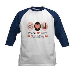Peace Love Statistics Tee