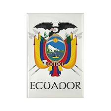 Ecuador Coat of Arms Rectangle Magnet