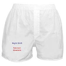 Cute Night shift Boxer Shorts