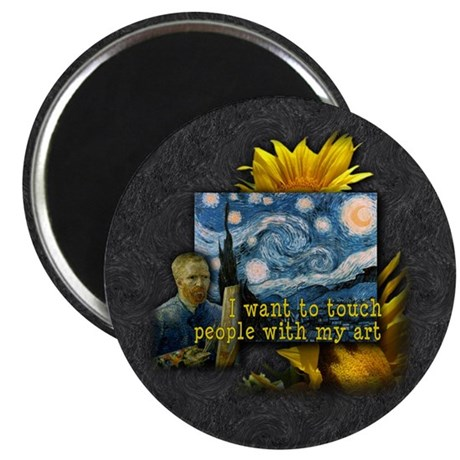 "Van Gogh Starry Night 2.25"" Magnet (10 pack)"