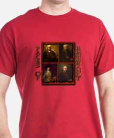 Faces of Rembrandt T-Shirt