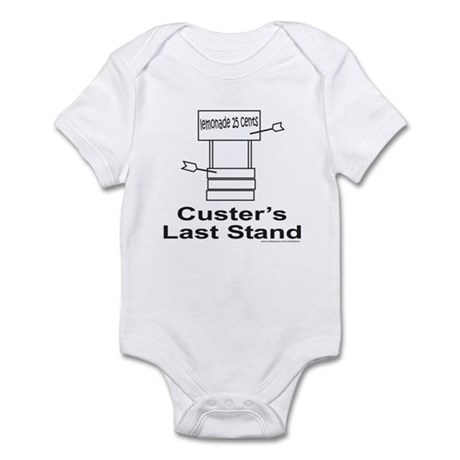 CUSTER'S LAST STAND Infant Bodysuit