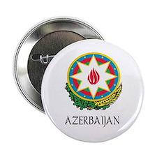 """Azerbaijan Coat of Arms 2.25"""" Button"""