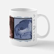 TriColor Art Quaker Parakeet Mug