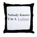 Lesbian Throw Pillow