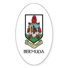 Bermuda Coat of Arms Oval Decal