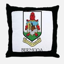 Bermuda Coat of Arms Throw Pillow