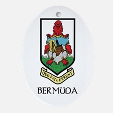 Bermuda Coat of Arms Oval Ornament