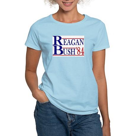 Reagan Bush 1984 Women's Light T-Shirt