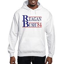 Reagan Bush 1984 Hoodie