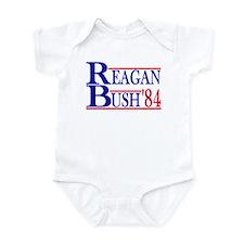 Reagan Bush 1984 Infant Bodysuit