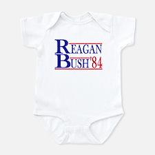 Reagan Bush 1984 Onesie