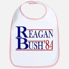 Reagan Bush 1984 Bib