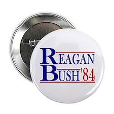 """Reagan Bush 1984 2.25"""" Button"""