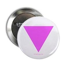 "Pink Triangle 2.25"" Button"