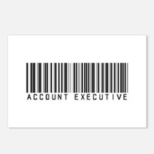Account Executive Barcode Postcards (Package of 8)