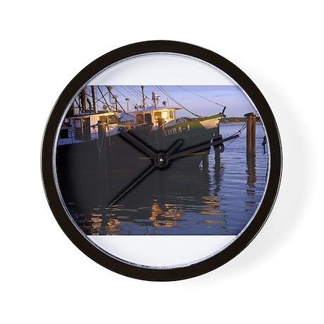 Wall Clock Hampton Bays Fisherman