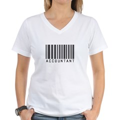 Accountant Barcode Shirt