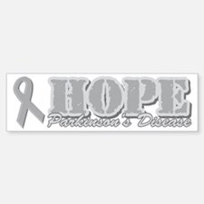 Hope Parkinsons Disease Sticker (Bumper)