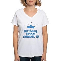 1st Birthday Prince Samuel IV Shirt