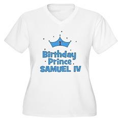 1st Birthday Prince Samuel IV T-Shirt