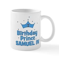 1st Birthday Prince Samuel IV Mug