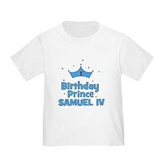 1st Birthday Prince Samuel IV T