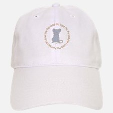 I Love my Rat Fur-children Baseball Baseball Cap
