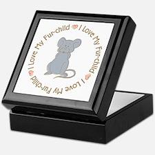I Love my Rat Fur-children Keepsake Box