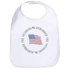 Remember the Veterans Bib